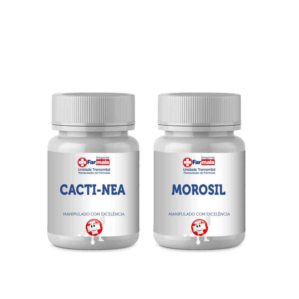 CACTI-NEA 500MG + MOROSIL 500MG + LOÇÃO DEBORA