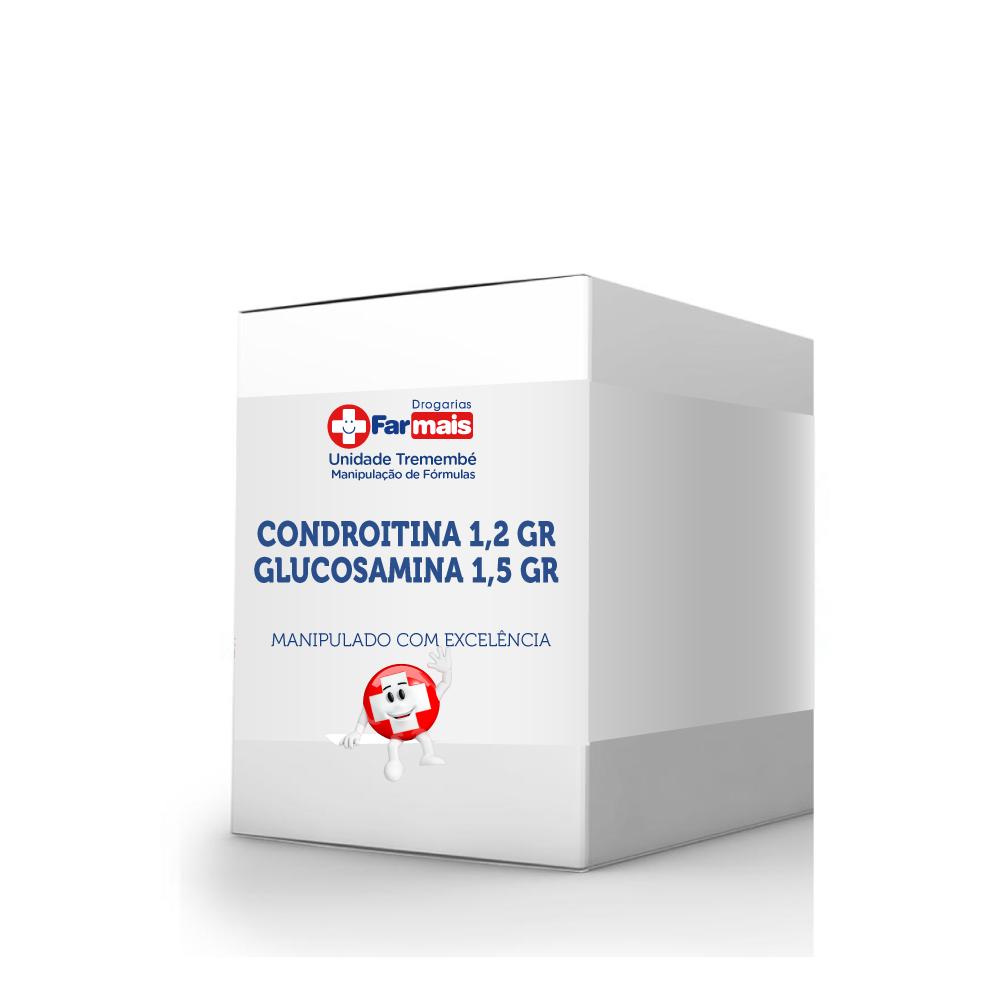 CONDROITINA 1,2 GR + GLUCOSAMINA 1,5 GR SACHÊS