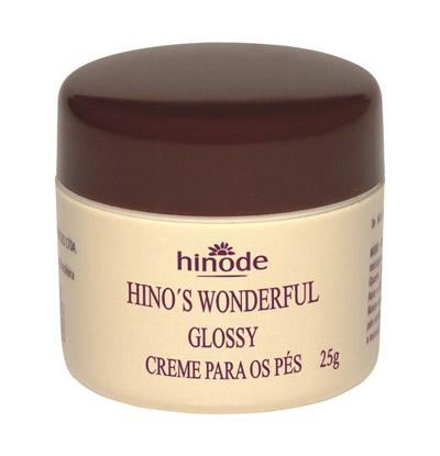 HINO'S WONDERFUL GLOSSY CREME PARA OS PES 25G