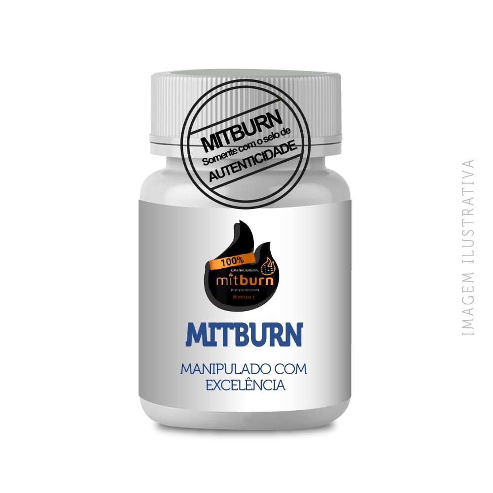 Mitburn 50 Mg Cps Vegetais - Original Com Selo Autênticidade