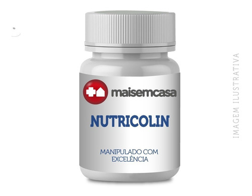 - Nutricolin (silício Orgânico) 150mg Com 60 Cápsulas Veganas