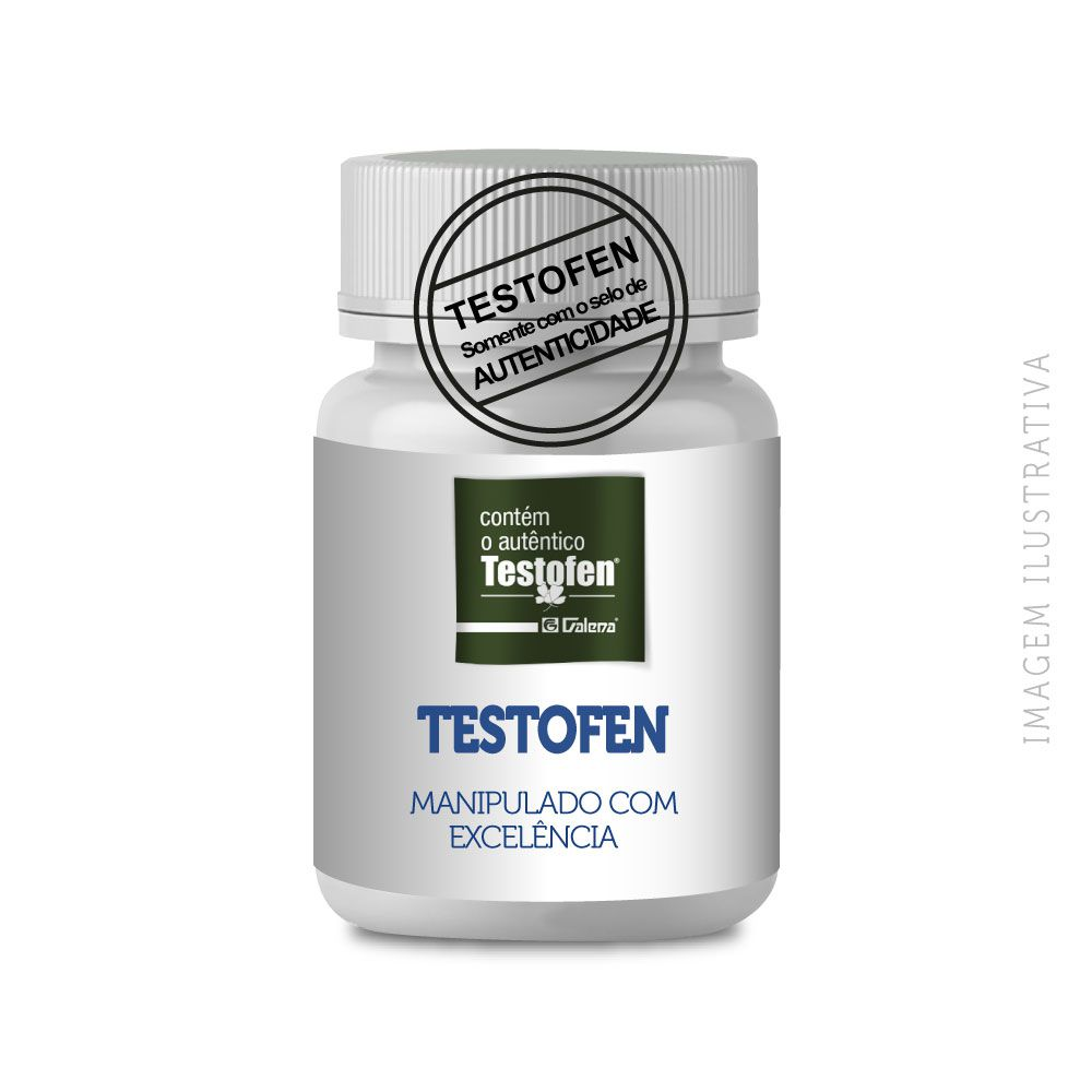 TESTOFEN ® 300MG - 30 CÁPSULAS - SELO DE AUTENTICIDADE