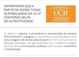 UC II® 40mg  -SELO DE AUTENTICIDADE - (COMBATE ARTRITE) + Move® 100 Mg CPS