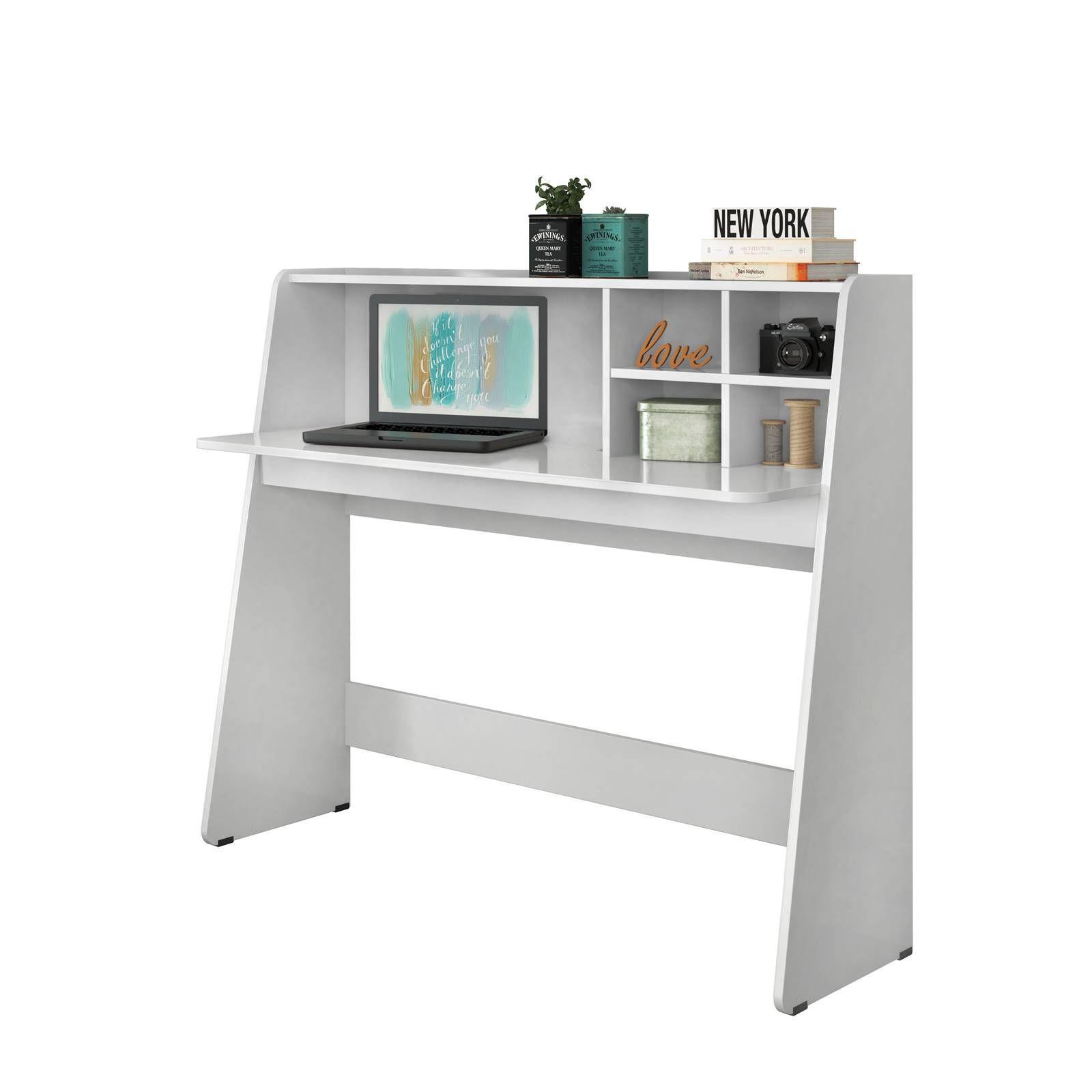 Escrivaninha Bancada de Estudo Ideia Colibri Branco