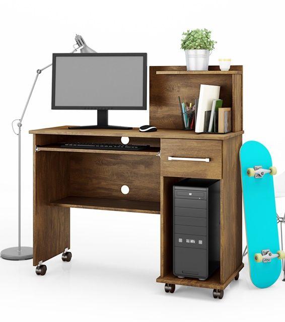 Escrivaninha Office Studio Canela Lukaliam Móveis