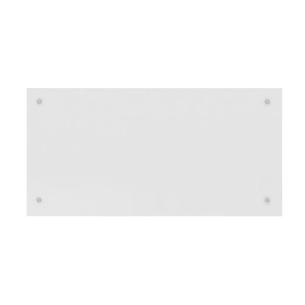 Painel Cabeceira Solteiro Modulado Módena Demóbile Branco