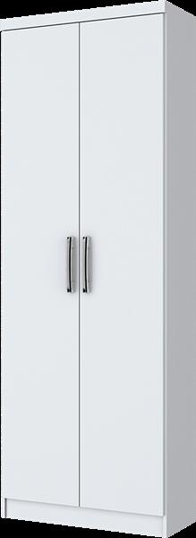Roupeiro Multiuso 2 Portas Branco Margarida Henn