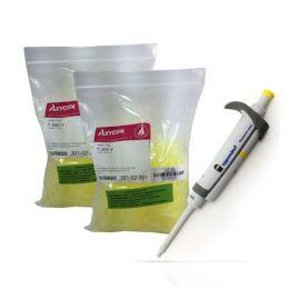 Compre 1 micropipeta Eppendorf e ganhe 2 pacotes de ponteiras Axygen de 200uL.