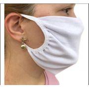 Kit de 10 Máscaras de Proteção Não Descartável 100% Algodão