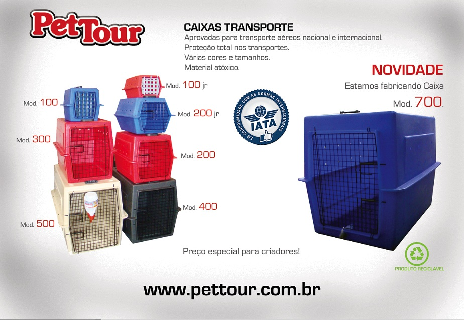 Caixa de Transporte Mod.100JR-Ferro - Mini