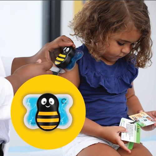 Buzzy® Mini HealthCare Abelha - A melhor opção para Clínicas de Vacinação e Farmácias  - Buzzy Brasil