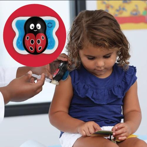 Buzzy® Mini HealthCare Joaninha - A melhor opção para Clínicas de Vacinação e Farmácias  - Buzzy Brasil