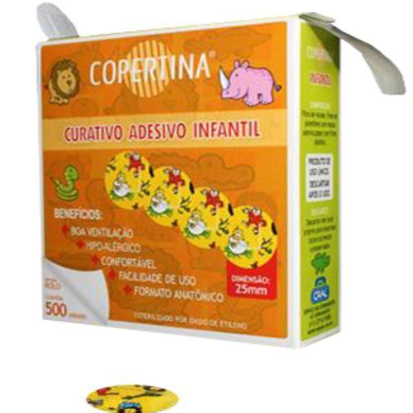 Curativo Infantil Blood Stop Caixa em Rolo com 500 unidades - Copertina   - Buzzy Brasil