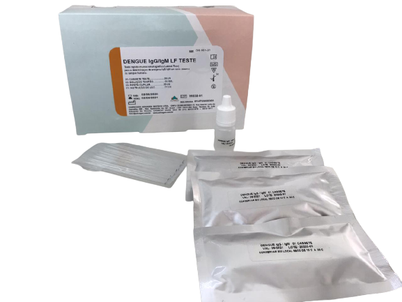 Teste Rápido Advagen Biotech para Dengue IgG/IgM LF - Kit com 20 testes - Resultado em 15 minutos  - Buzzy Brasil