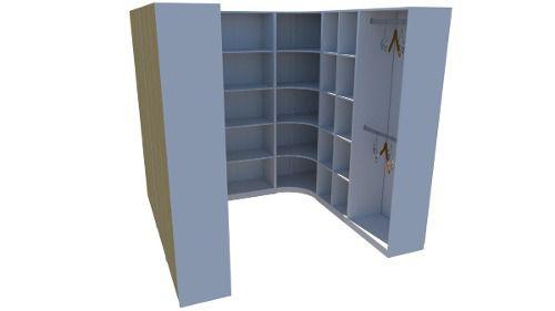Kit Armário Closet Modulado M27 (colmeia, loja, Expositor, sapateira, roupa, organizador)