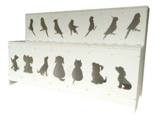 Expositor De Ração Pet Box Kids 14 Divisões (cães, Gatos)