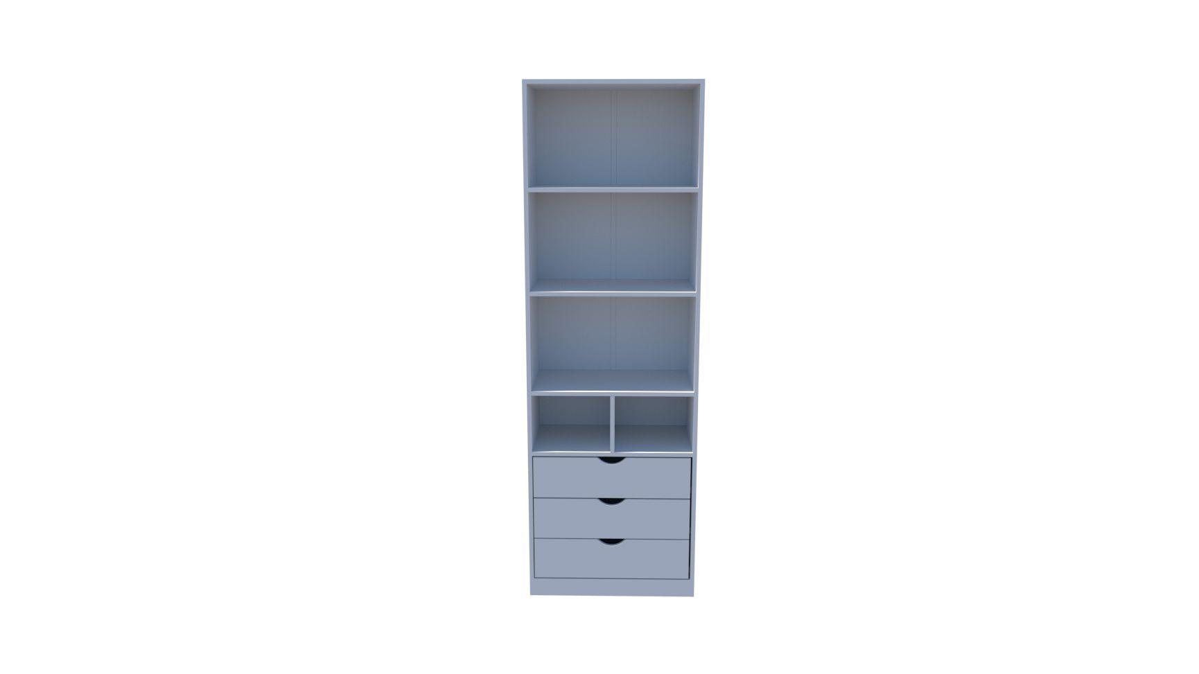 Armário Colmeia Mirela M7 (closet, lojas, roupas, organizador, expositor)