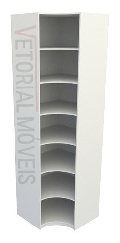 Armário Prateleira De Canto M8 100% Mdf (closet Expositor)