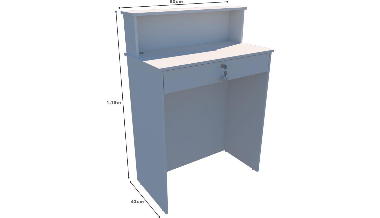 Balcão Caixa M6 (atendimento, loja, gaveta)