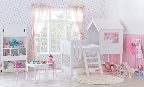 Cama Casinha M3 (Playground, Meninas, Meninos, quarto)