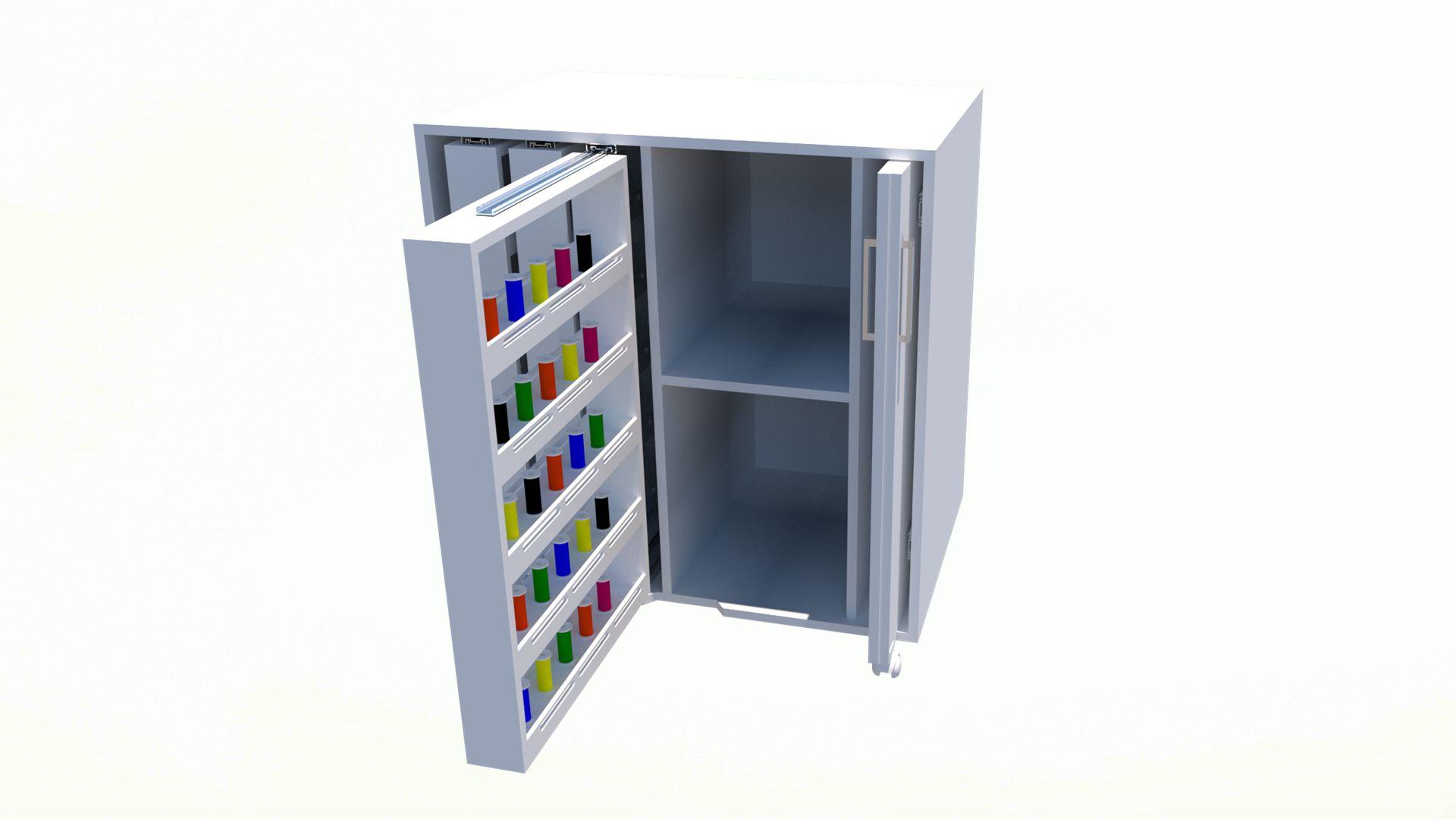Armário para linhas (organizador, costura, trabalho, loja)