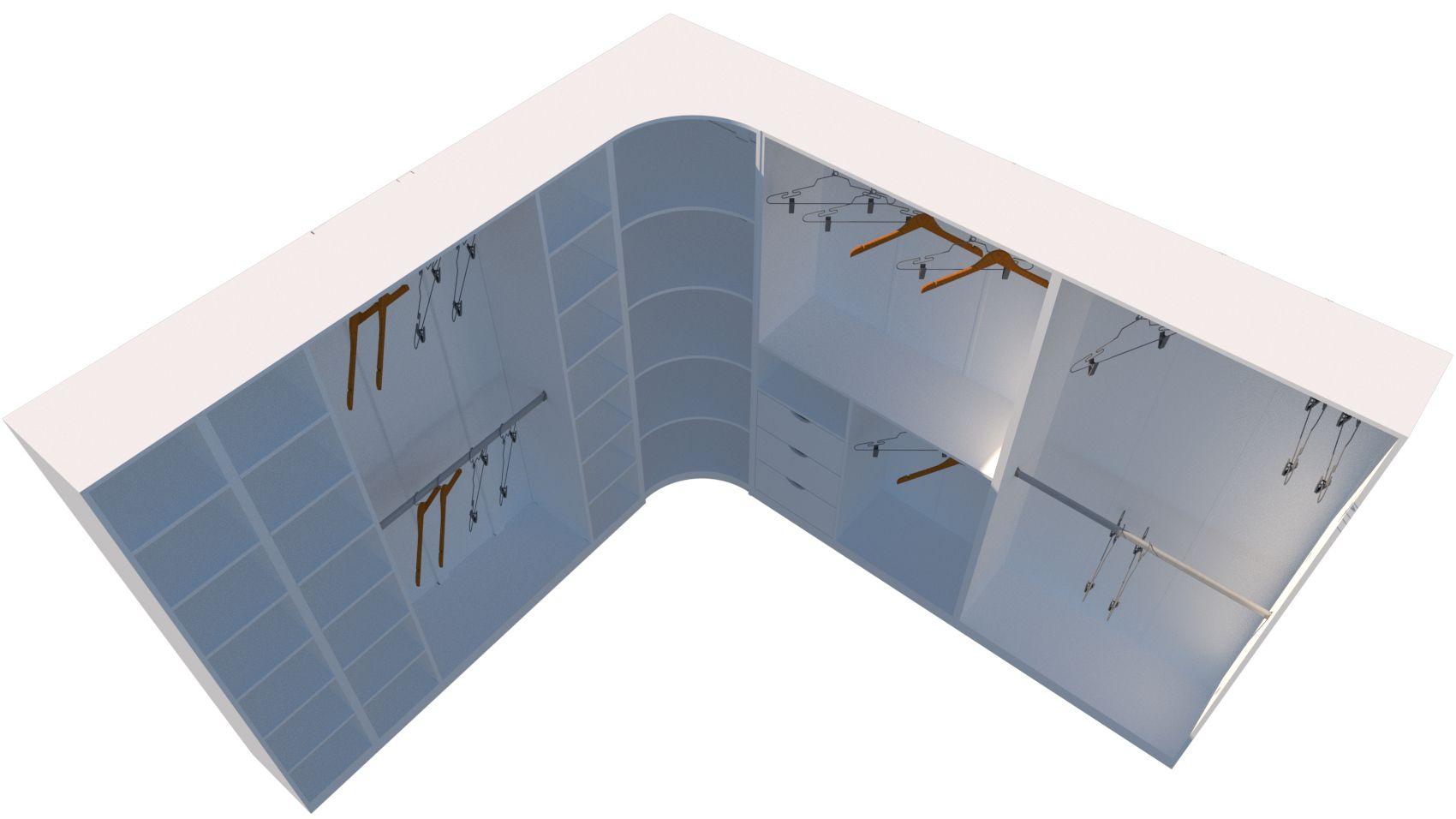 Kit Armário Closet Modulado M23 (colmeia, loja, Expositor, sapateira, roupa, organizador)