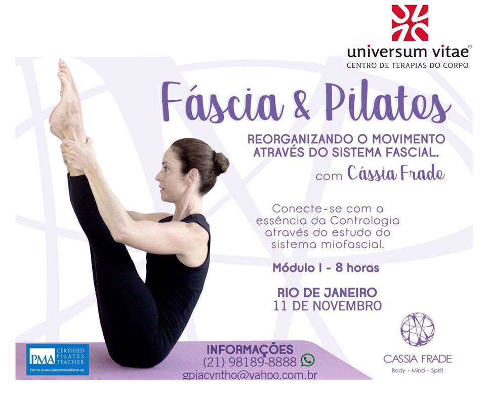 Workshop Cassia Frade - Fáscia e Pilates