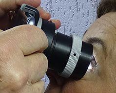 Adaptador para Iridophoto Comum e Smartphone