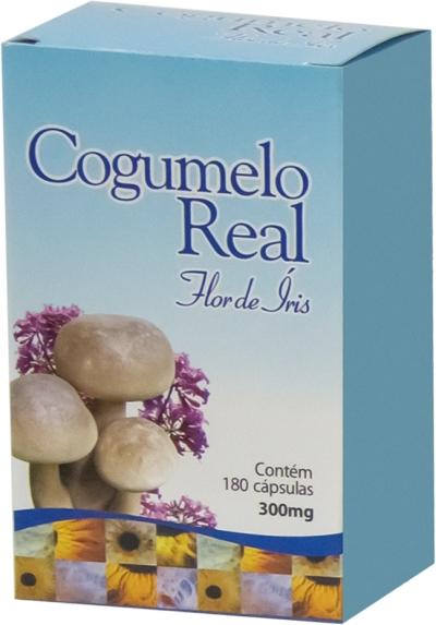 Cogumelo Real Composto Flor de Íris