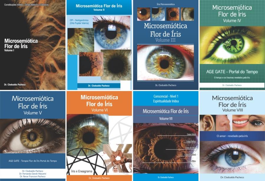 Enciclopédia de Iridologia (Microsemiótica Irídea) - Completa