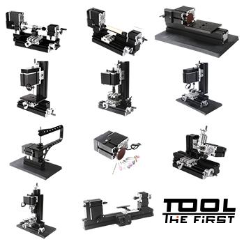 Mini Máquina Metal Multifunção 10 em 1 - The First Tool - 60W, 12000rpm Motor Big Power - TZ10000MG