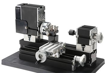 Mini Torno de Metal Bancada - The First Tool - 60W, 12000rpm Motor Big Power - TZ20002MG