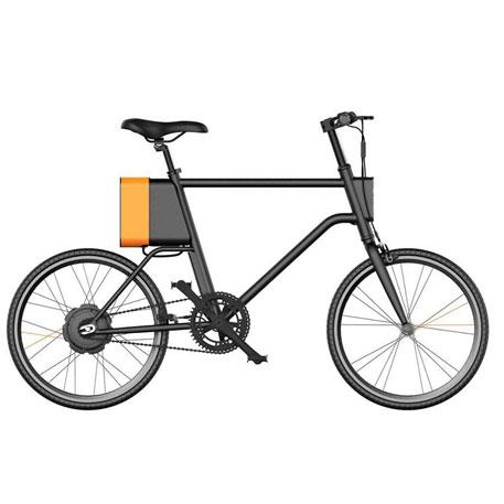 Bicicleta Elétrica YUNBIKE UMA C1 Masculino -  Preto