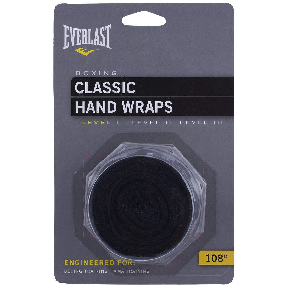 Kit  Everlast Bandagem 108 inches Preta Protetor Bucal Simples Branco Luva Elite Pro Style 12oz Dourada
