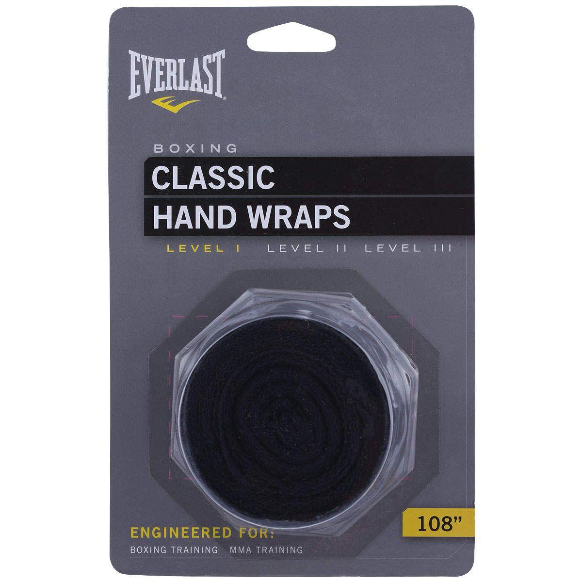 Kit  Everlast Bandagem 108 inches Preta Protetor Bucal Simples Branco Luva Elite Pro Style 12oz Prateada