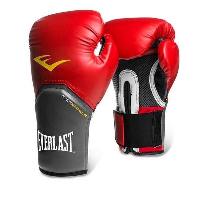 Luva Boxe Everlast Pro Style Elite Training 12 Oz Vermelha