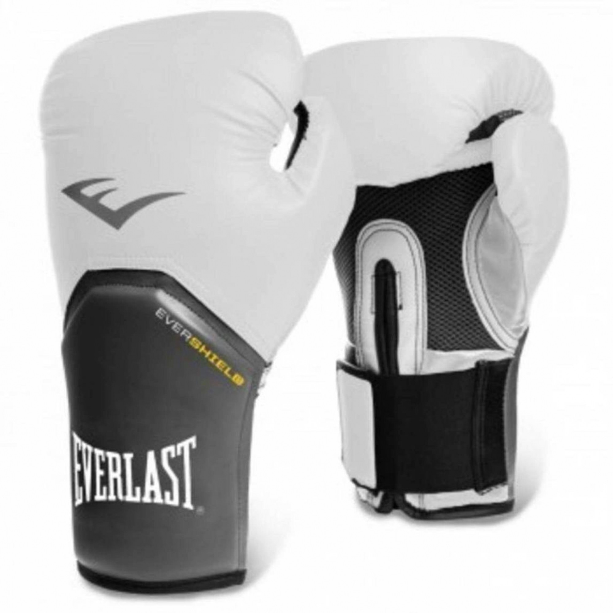 Luva Boxe Everlast Pro Style Elite Training 12 Oz Branca