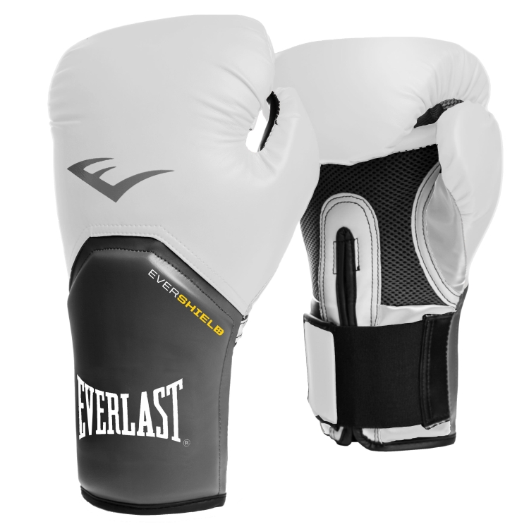 LUVA EVERLAST BOXING  EVER SHIELD PRO STYLE ELITE 12 OZ VÁRIAS CORES