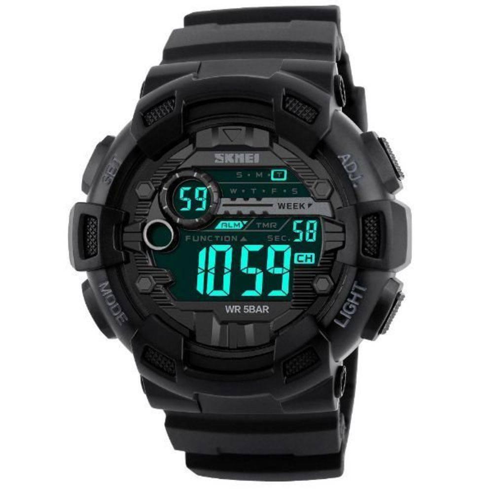 Relógio Skmei 1243 digital preto