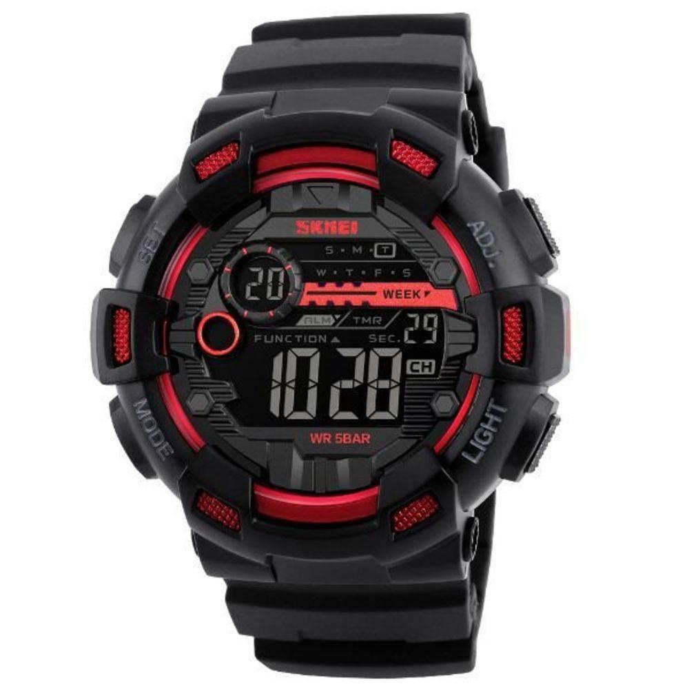Relógio Skmei 1243 digital vermelho