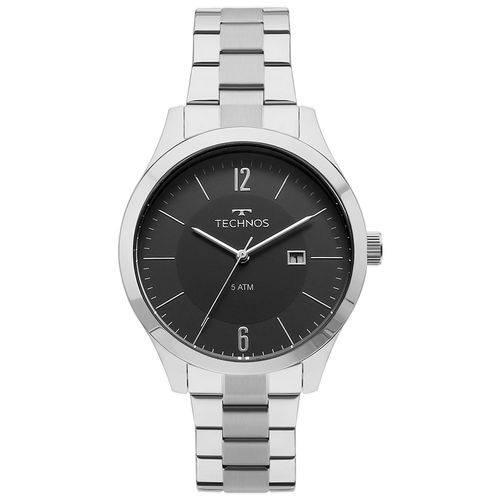 Relógio Technos Masculino 2115mot/1p Steel Prata