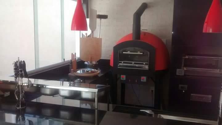 Forno Refratário Instale a Lenha 800 mm