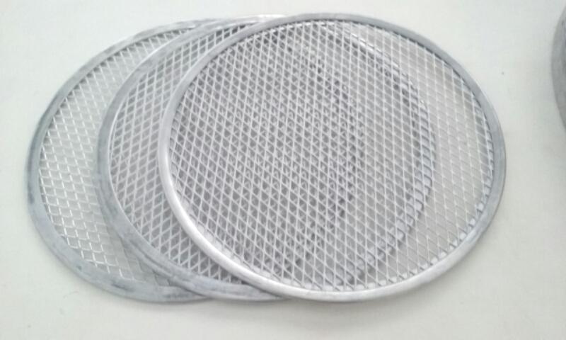 Kit 3 telas de alumínio   de 25 cm