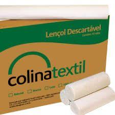 Rolo de papel 100% celulose para maca 50 x 70