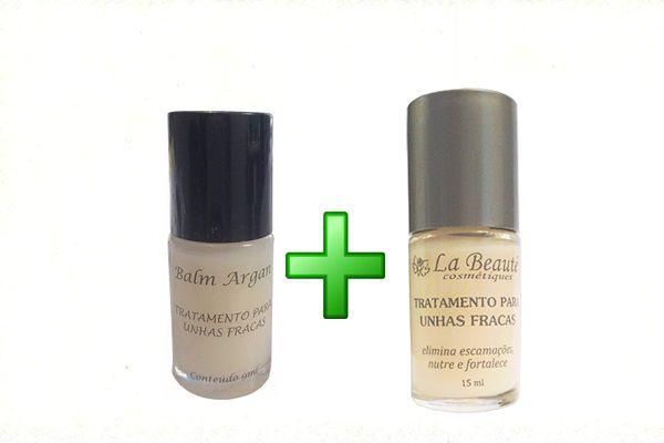 Tratamento para Unhas Fracas La Beaute + Balm Argan