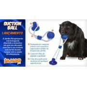 Brinquedo Puxa Cão (Disponível em azul ou rosa)