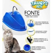 Fonte Bebedouro para Gatos e Cães Truqys - 110V