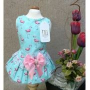 VESTIDO FLAMINGOS TIFFANY