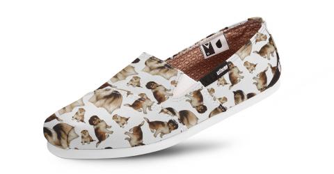 Alpargata Slim Temática - Escolha a Raça do seu Dog  - Shoppinho Animal