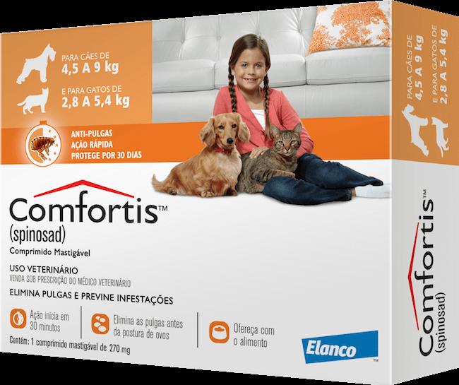 Antipulgas Comfortis 270 Mg Cães E Gatos